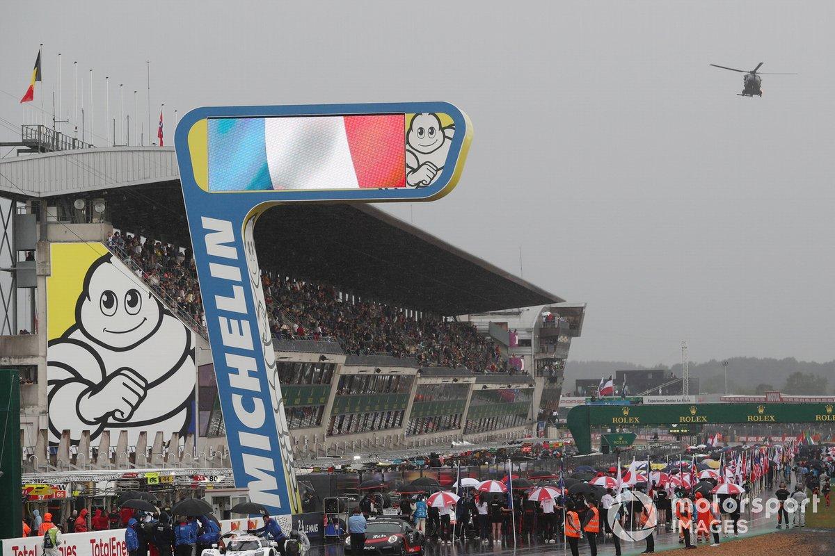 Parilla de Le Mans 2021