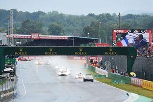 Start zu den 24h Le Mans 2021 hinter dem Safety-Car