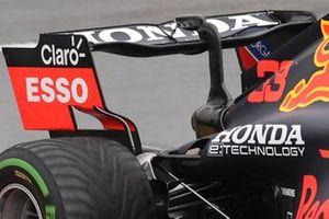 Red Bull Racing RB16B achtervleugel detail