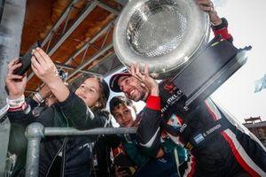 Podium: winnaar Esteban Guerrieri, ALL-INKL.COM Münnich Motorsport Honda Civic Type R TCR