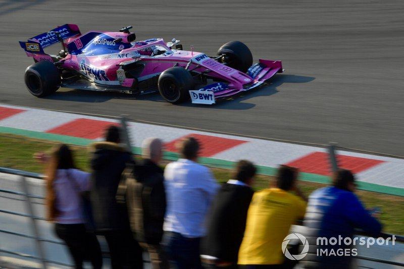 Lance Stroll, agora na Racing Point (antiga Force India), foi o sétimo