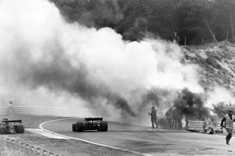 Crash of Roger Williamson, March 731-Ford