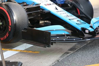 Williams Racing FW42 front wing detail