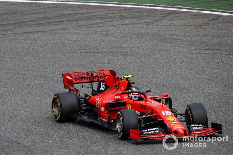 Leclerc estuvo decepcionado consigo mismo en clasificación