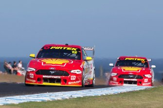Fabian Coulthard, DJR Team Penske Ford, Scott McLaughlin, DJR Team Penske Ford