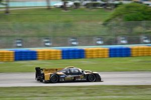 #230 FP1 Ginetta G57 driven by William Hubbell & Eric Curran of Hubbell Racing