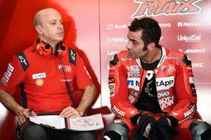 Danilo Petrucci, Ducati Team, mit Daniele Romagnoli