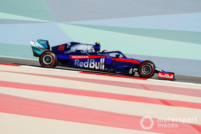 21 місце — Александер Албон, Toro Rosso — 2