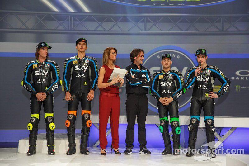 Sky Racing Team VR46 lansmanı