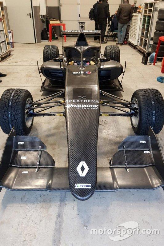 Car of Federico Malvestiti, BhaiTech Racing