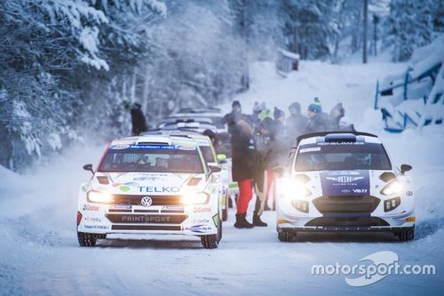 Valtteri Bottas M-Sport testing