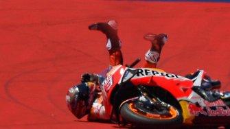 Marc Márquez crash