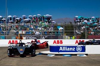 Sébastien Buemi, Nissan e.Dams, Nissan IMO1 Pascal Wehrlein, Mahindra Racing, M5 Electro, Sam Bird, Envision Virgin Racing, Audi e-tron FE05