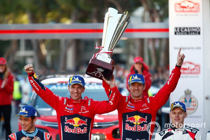 Winner Sébastien Ogier, Julien Ingrassia, Citroën World Rally Team Citroen C3 WRC