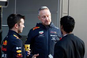 Jonathan Wheatley, Red Bull Racing Teammanager in gesprek met Karun Chandhok, Sky TV