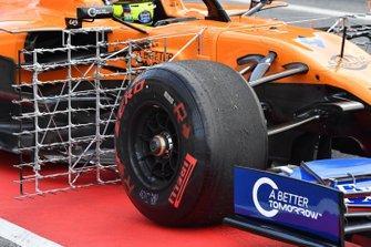 McLaren MCL34 aero sensors