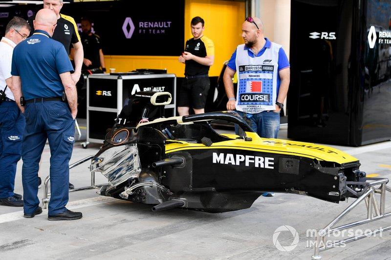 La cellule de survie de la Renault R.S.19