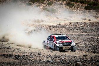 301# Toyota Gazoo Racing Toyota Hilux: Фернандо Алонсо, Жиньель де Вильерс