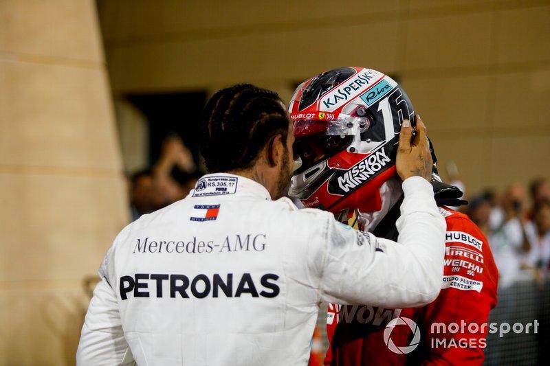 Льюіс Хемілтон, Mercedes AMG F1, Шарль Леклер, Ferrari