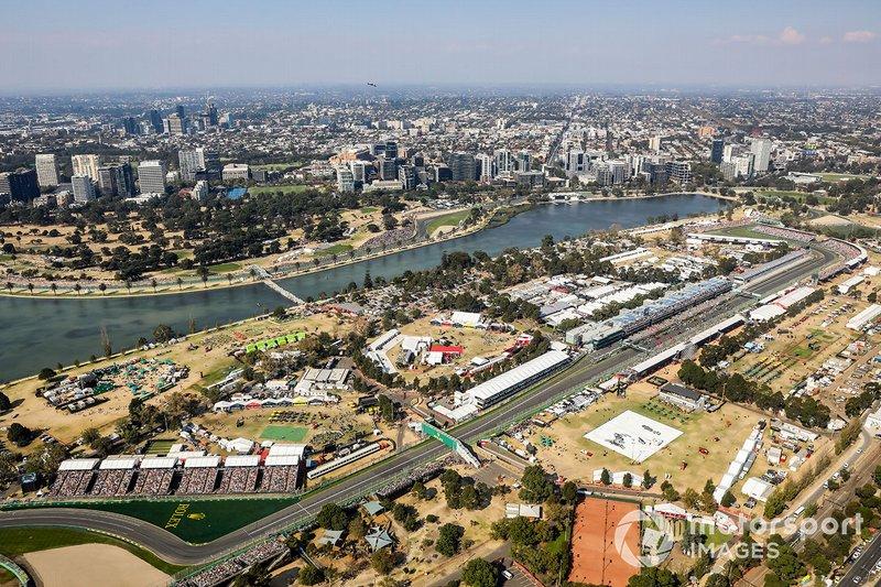 Albert Park Circuit in Melbourne