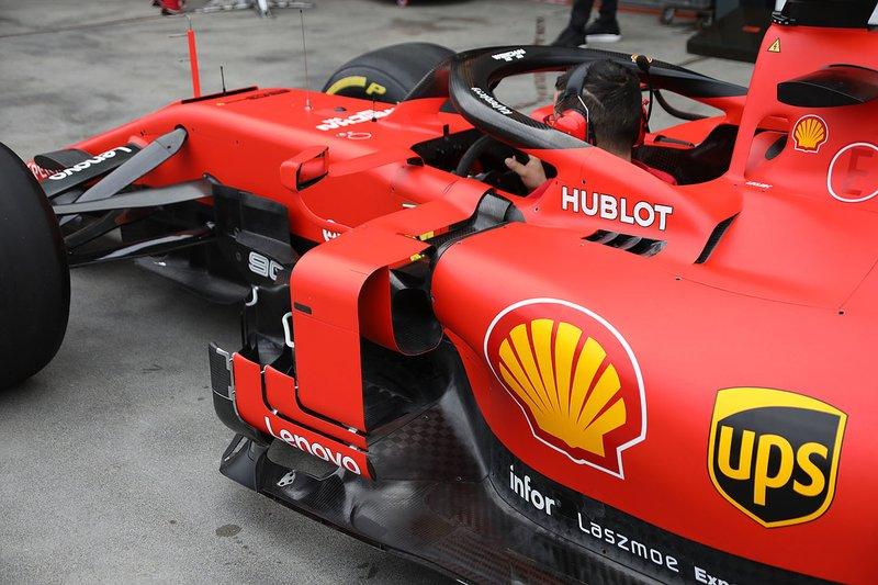 Ferrari SF90 dettaglio laterale