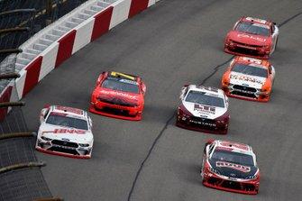 Landon Cassill, StarCom Racing, Chevrolet Camaro Superior Essex and Christopher Bell, Joe Gibbs Racing, Toyota Supra Ruud