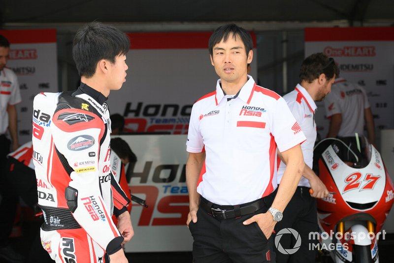 HiroshiAoyama, Team Manager Honda Team Asia