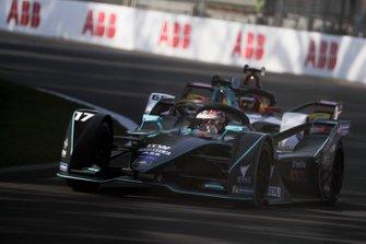 Gary Paffett, HWA Racelab, VFE-05 leads Daniel Abt, Audi Sport ABT Schaeffler, Audi e-tron FE05