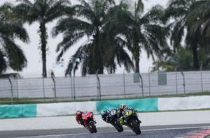Valentino Rossi, Yamaha Factory Racing, Maverick Vinales, Yamaha Factory Racing, Danilo Petrucci, Ducati Team