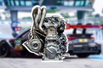 2019 Audi RS 5 DTM Engine
