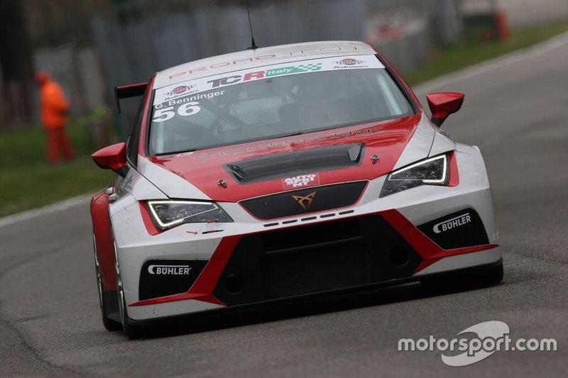 Gunther Benninger, Wimmer Werk Motorsport, Cupra DSG