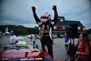 TA race winner Lawrence Loshak