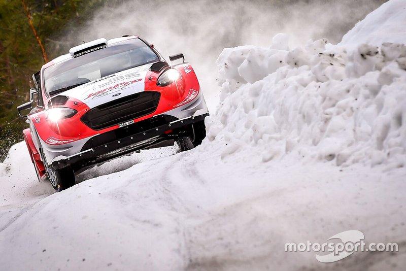 Янне Туохино и Микко Марккула, Ford Fiesta WRC