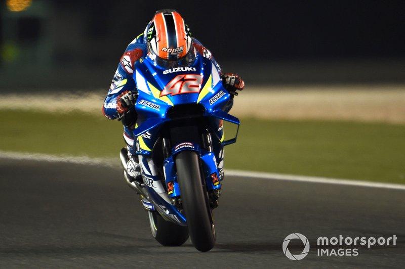 42 - Alex Rins, Team Suzuki MotoGP