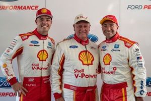 Scott McLaughlin, DJR Team Penske, mit Dick Johnson und Marcos Ambrose