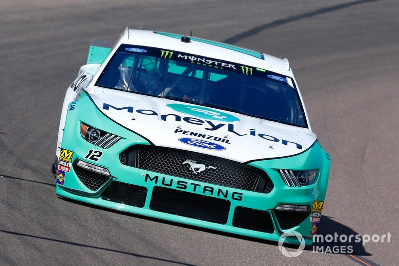 10. Ryan Blaney, Team Penske, Ford Mustang