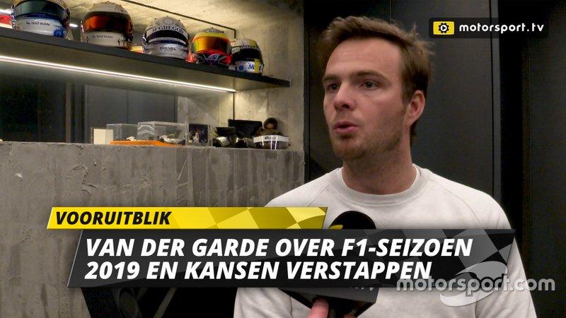 Thumbnail Giedo van der Garde, vooruitblik op F1-seizoen 2019