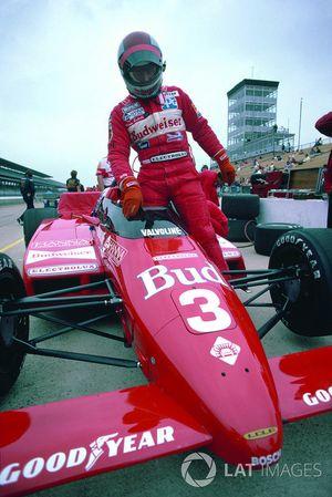 1984 Indy 500, Mario Andretti, Lola T800 Cosworth