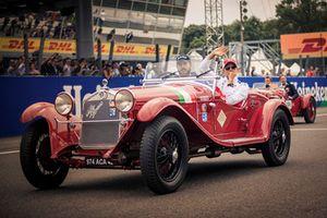 Marcus Ericsson, Sauber on drivers parade