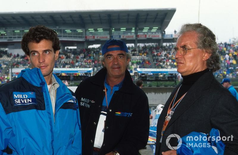 Flavio Briatore, Benetton F1 ve Luciano Benetton, Alessandro Benetton