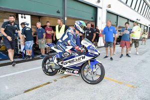 Luca Gresini, Gresini Racing Junior Team