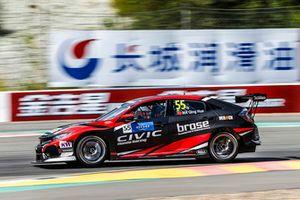 Ma Qing Hua, Boutsen Ginion Racing Honda Civic Type R TCR