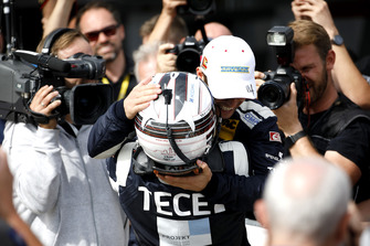 Race winner #11 EFP by TECE Audi R8 LMS: Elia Erhart, Pierre Kaffer