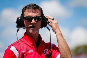 Christopher Bell, Joe Gibbs Racing, Toyota Camry Rheem crew chief Jason Ratcliff