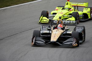 James Hinchcliffe, Schmidt Peterson Motorsports Honda, Simon Pagenaud, Team Penske Chevrolet