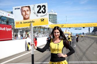 Grid girl van Daniel Juncadella, Mercedes-AMG Team HWA