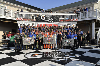 Chase Elliott, Hendrick Motorsports, Chevrolet Camaro SunEnergy1 wins and celebrates the 250th win for Hendrick Motor Sports,