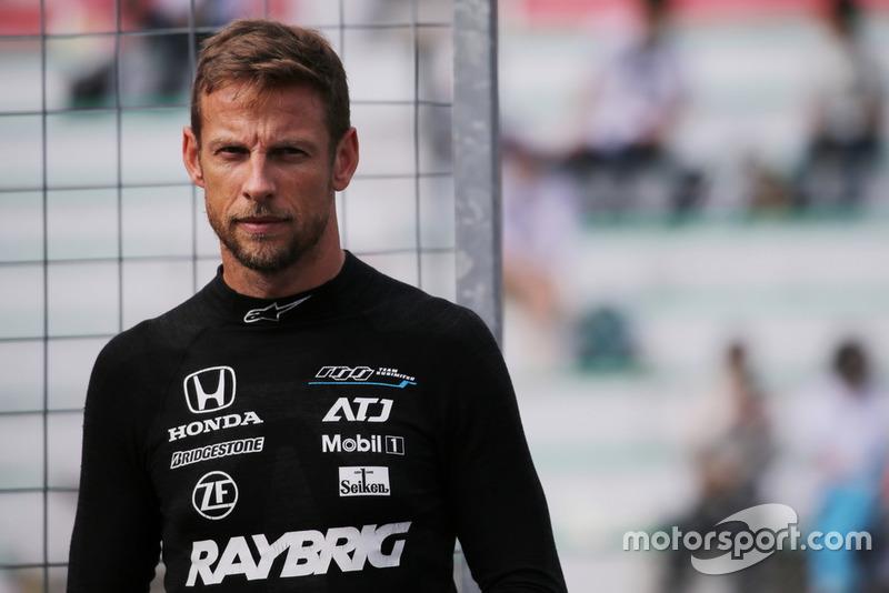 Jenson Button, #100 RAYBRIG NSX-GT