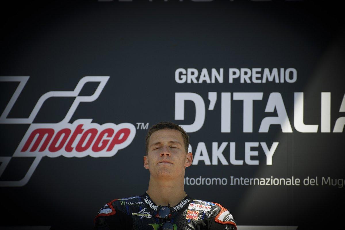 Podio: ganador Fabio Quartararo, Yamaha Factory Racing