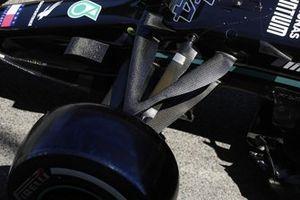 Детали передней подвески Mercedes W12